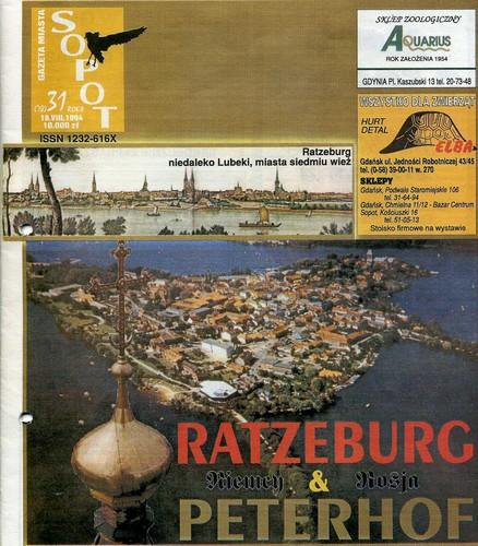 Auszug aus der Sopoter Stadtzeitung vom 19. August 1994