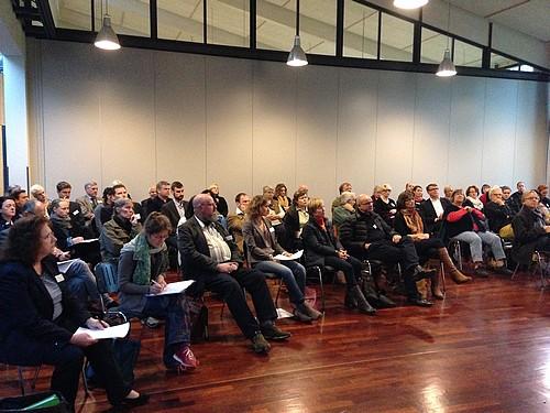 Über 70 Teilnehmerinnen und Teilnehmer besuchten die 5. Regionalkonferenz Rechtsextremismus in Bargteheide