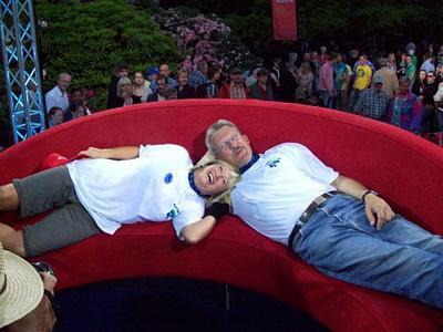 Schaubude Ermittelt Sieger Des Das Duells Das Rote Sofa Geht Nach Ratzeburg Ratzeburg
