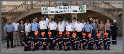 Herzlicher Empfang in Châtillon-sur-Seine