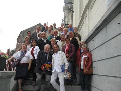 Große Ratzeburger Delegation zu Besuch in der wallonischen Partnerstadt Walcourt (Belgien)