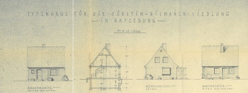Die Fürstin-Bismarck-DRK-Siedlung in Ratzeburg