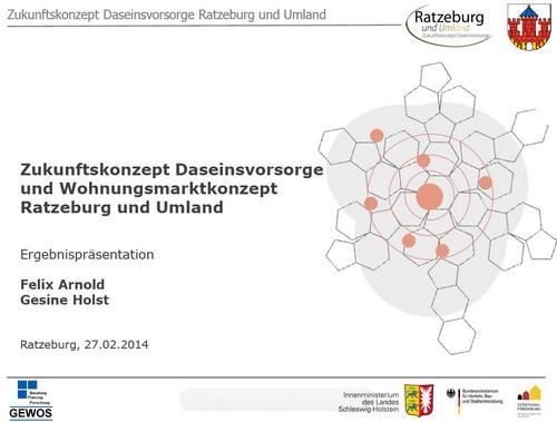 Zukunftskonzept Daseinsvorsorge für die Stadt Ratzeburg und das Umland