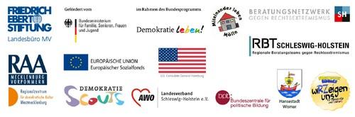 Bild vergrößern: Veranstalter der 8. Regionalkonferenz Rechtsextremismus