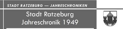 Jahreschronik 1952