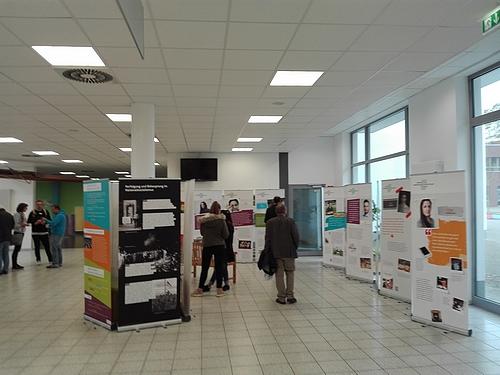 Austausch und Begegnung waren neben den Fortbildungsinhalt ein weiterer wichtiger Schwerpunkt der 10. Regionalkonferenz ... und die Ausstellung