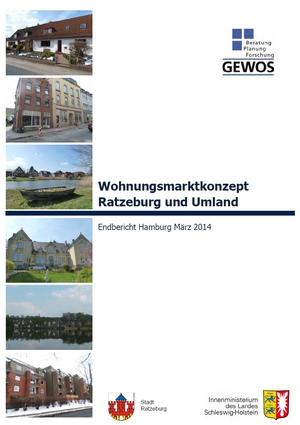 Wohnungsmarktkonzept Ratzeburg und Umland - Endbericht (Februar 2014)