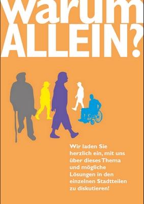 """""""Warum allein?"""" - Städtisches Dialogprojekt zum Thema """"Einsamkeit"""""""