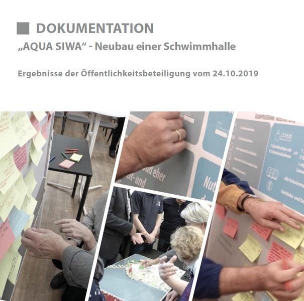DOKUMENTATION »AQUA SIWA« - Neubau einer Schwimmhalle - Ergebnisse der Öffentlichkeitsbeteiligung vom 24.10.2019