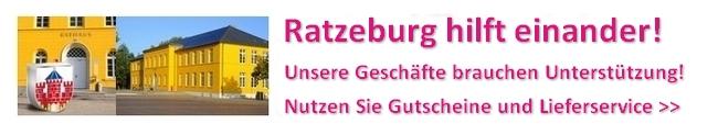 """""""Ratzeburg hilft einander!"""" - Liefern geht auch in Ratzeburg"""