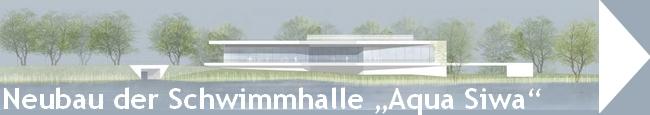 Online-Ausstellung der Ergebnisse des Realisierungswettbewerbs für den Neubau der Schwimmhalle »Aqua Siwa«