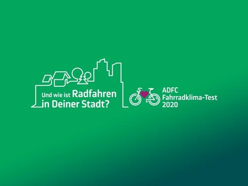 Bild vergrößern: ADFC-Fahrradklima-Test 2020ADFC-Fahrradklima-Test 2020 © ADFC Allgemeiner Deutscher Fahrrad-Club e. V.