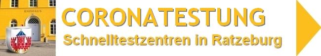 Bild vergrößern: Corona-Schnellteststationen in Ratzeburg und UmgebungCorona-Schnellteststationen in Ratzeburg und Umgebung