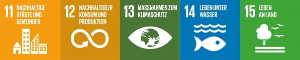 17 Ziele für nachhaltige Entwicklung der Vereinten Nationen